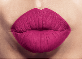 Mark. Labial líquido mate FPS 15 Fucsia Divino